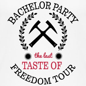 BACHELOR PARTY - THE LAST TASTE OF FREEDOM Tops - Vrouwen bio tank top