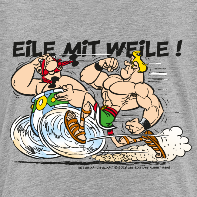 Asterix & Obelix - Obelix: 'Eile mit Weile!'