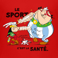 Motif ~ Asterix & Obelix -  Asterix and Obelix boxing