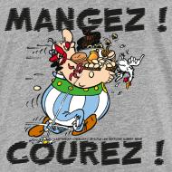 Motif ~ Asterix & Obelix - Obelix: Mangez! Courez!