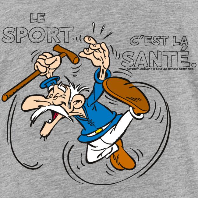 Asterix & Obelix - Geriatrix: Le sport c'est la santé.
