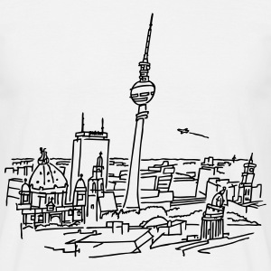 Panorama of Berlin T-Shirts - Men's T-Shirt
