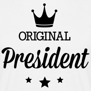 Original three star deluxe President T-Shirts - Men's T-Shirt
