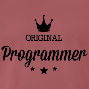 Original three star deluxe programmer T-Shirts - Men's Premium T-Shirt