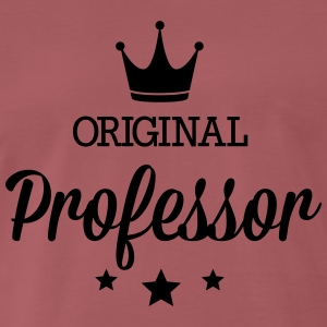 Original three star deluxe Professor T-Shirts - Men's Premium T-Shirt