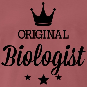 Original three star deluxe biologist T-Shirts - Men's Premium T-Shirt