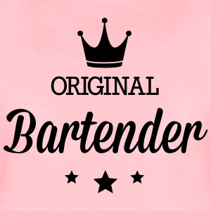 Original three star deluxe bartender T-Shirts - Women's Premium T-Shirt