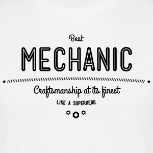 Best mechanic as a super hero T-Shirts - Men's T-Shirt