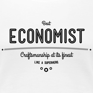Best Economist - like a super hero T-Shirts - Women's Premium T-Shirt