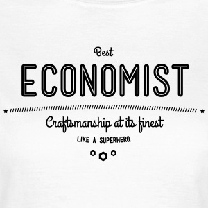Best Economist - like a super hero T-Shirts - Women's T-Shirt