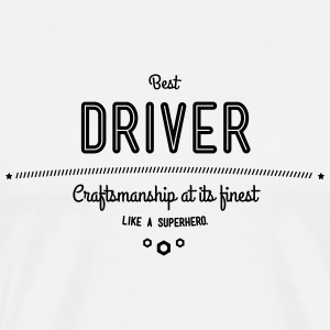 Best driver with diesel in the blood T-Shirts - Men's Premium T-Shirt
