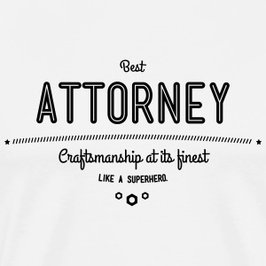 Best lawyers - craftsmanship at its finest, like a super hero T-Shirts - Men's Premium T-Shirt