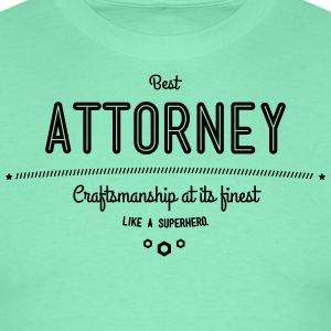 Best lawyers - craftsmanship at its finest, like a super hero T-Shirts - Men's T-Shirt