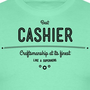 Best teller - craftsmanship at its finest, like a super hero T-Shirts - Men's T-Shirt