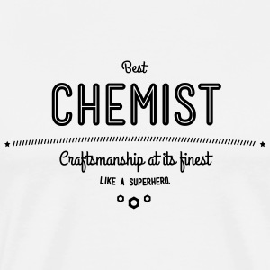 Best chemist - craftsmanship at its finest, like a super hero T-Shirts - Men's Premium T-Shirt