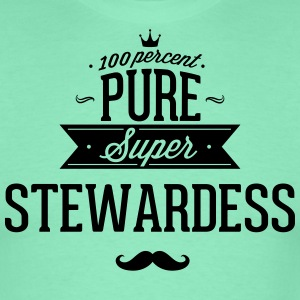 100% super steward T-shirts - Herre-T-shirt
