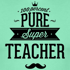 100% super lærer T-shirts - Herre-T-shirt