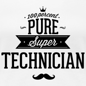 100% best technician T-Shirts - Women's Premium T-Shirt