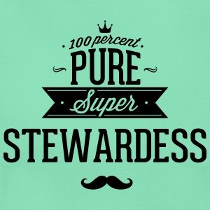 Zu 100% super Steward T-Shirts - Frauen T-Shirt