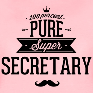 100% Super Secretary T-Shirts - Women's Premium T-Shirt