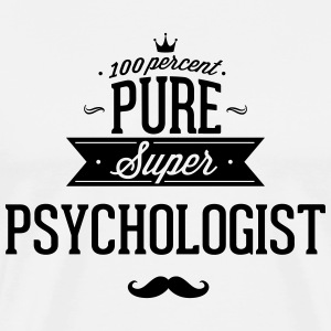 100 percent pure super Psychologe T-shirts - Mannen Premium T-shirt