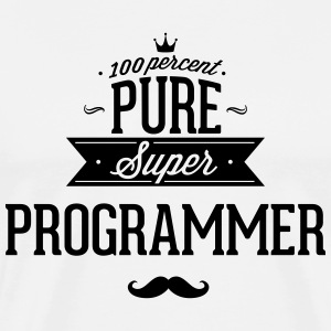 Absolutely pure Super programmers T-Shirts - Men's Premium T-Shirt