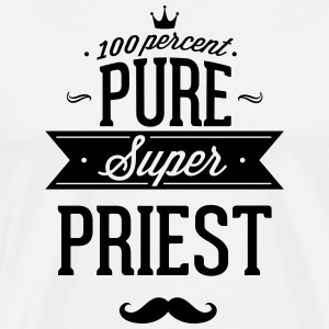 100 percent pure super priest T-Shirts - Men's Premium T-Shirt