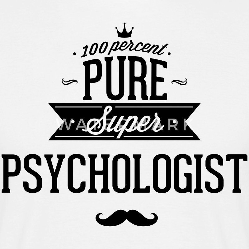 100 percent pure super Psychologe T-shirts - Herre-T-shirt