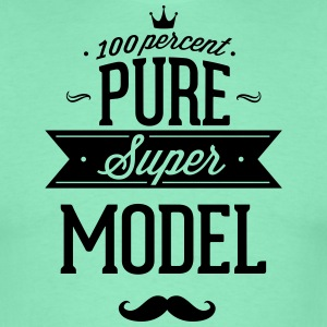 100% super model T-Shirts - Men's T-Shirt