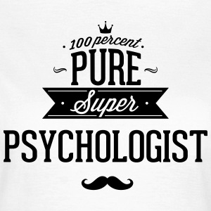 100 percent pure super Psychologe Camisetas - Camiseta mujer