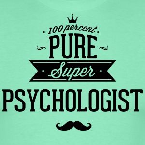 100 percent pure super Psychologe Camisetas - Camiseta hombre