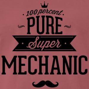 100% super mechanic T-Shirts - Men's Premium T-Shirt