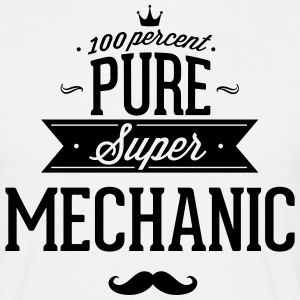 100% super mechanic T-Shirts - Men's T-Shirt