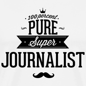 100 percent journalist T-Shirts - Men's Premium T-Shirt