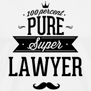 100% super lawyer T-Shirts - Men's Premium T-Shirt