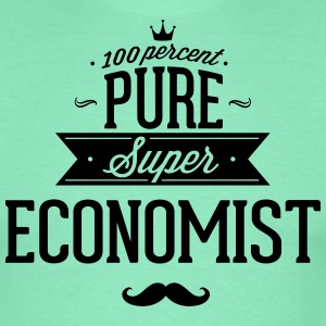 100% super Economist T-Shirts - Men's T-Shirt