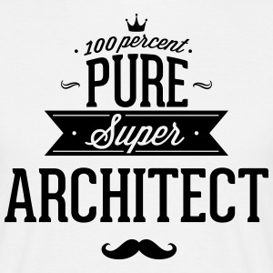 100 percent pure super architect T-shirts - T-shirt herr