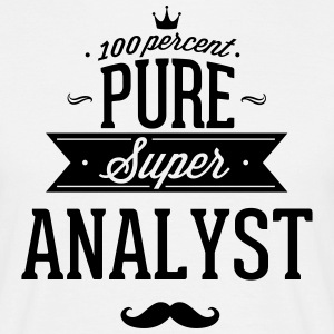 100 percent pure super analyst T-Shirts - Men's T-Shirt