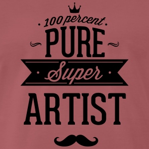 100 percent of pure Super artist T-Shirts - Men's Premium T-Shirt
