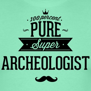 100 procent van pure Super archeoloog T-shirts - Mannen T-shirt