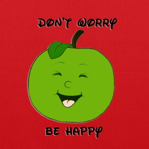 Don't worry - be happy - Stoffbeutel