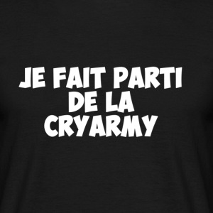 T-Shirt Officiel de la CryArmy  - T-shirt Homme