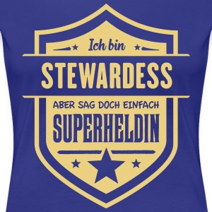 Super Stewardess T-Shirts - Frauen Premium T-Shirt