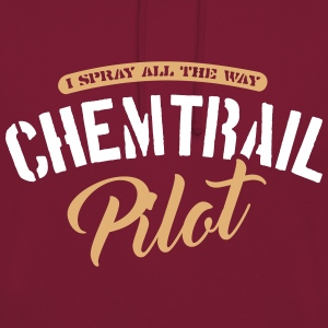 Chemtrail Pilot Sweat-shirts - Sweat-shirt à capuche unisexe