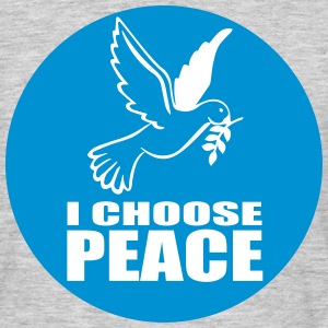 I choose Peace T-Shirts - Männer T-Shirt
