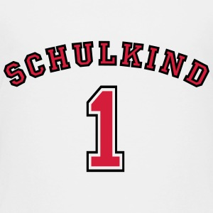 Schulkind New College Style 2C T-Shirts - Kinder Premium T-Shirt