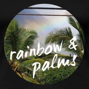 Rainbow Palms T-Shirts - Frauen Premium T-Shirt