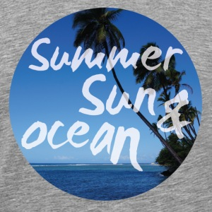 Summer Sun and Ocean T-Shirts - Männer Premium T-Shirt