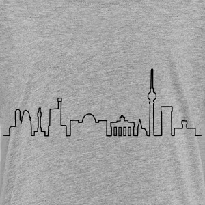Skyline of Berlin Shirts - Teenage Premium T-Shirt