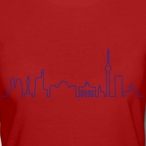 Skyline Berlin T-Shirts - Frauen Bio-T-Shirt